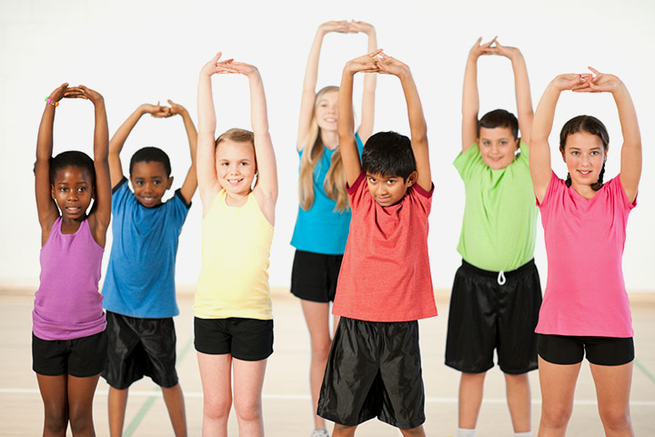 Warm Up Exercises For Kids - Exercise 4