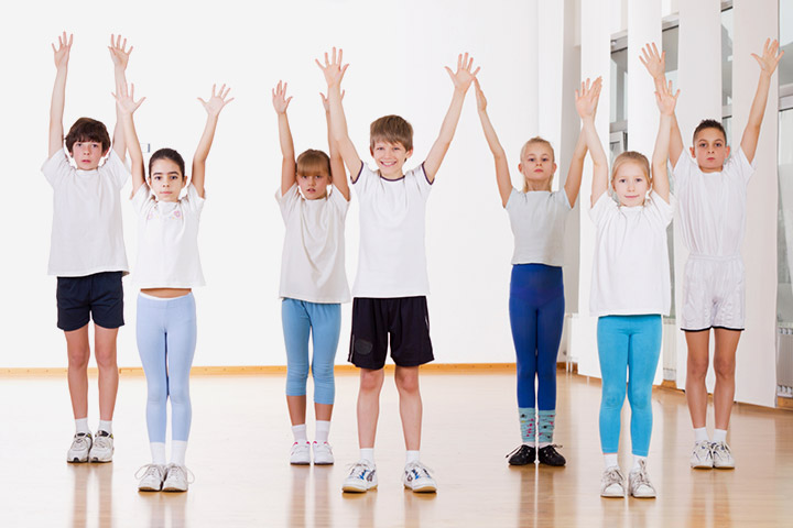 Warm Up Exercises For Kids - Exercise 7