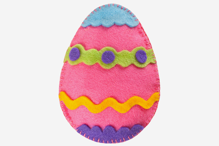Egg Craft - Felt Egg