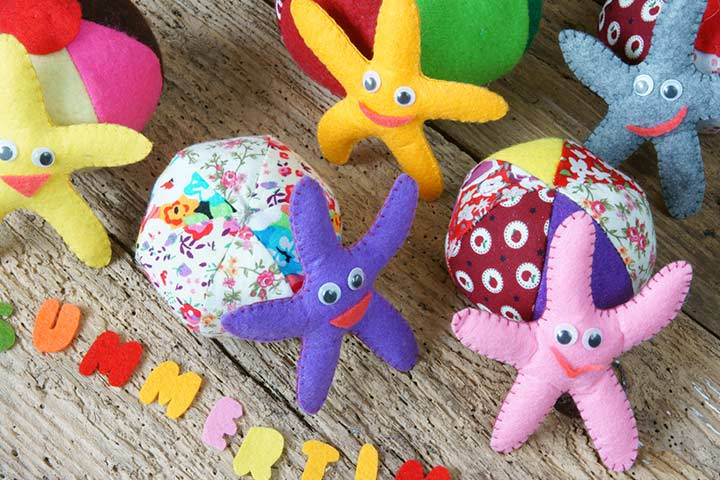 Starfish Craft - Felt Starfish Craft