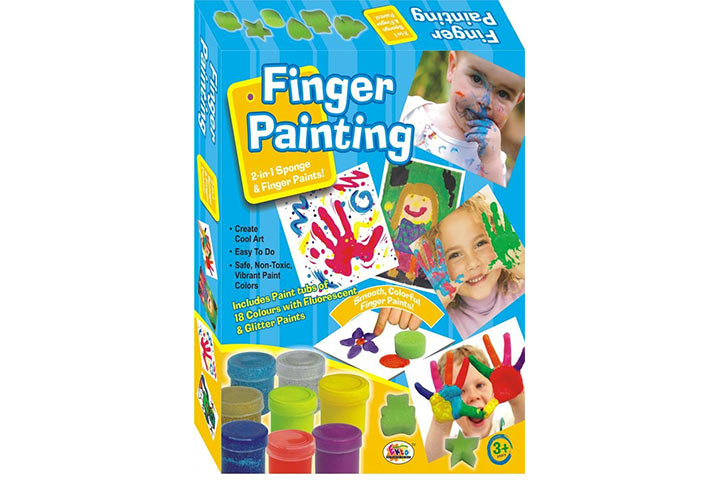 9 Finger Painting Set