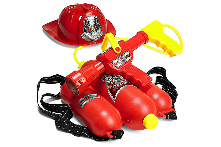 Fireman Backpack Water Gun Blaster