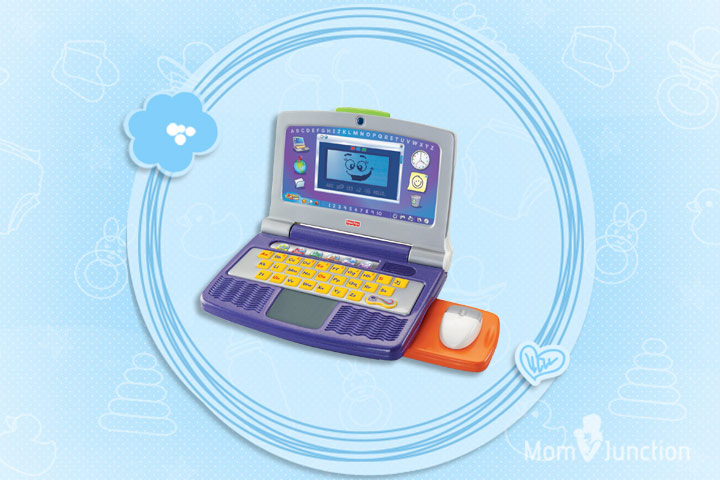 Laptop Toys - Fisher-Price Fun 2 Learn Color Flash Laptop