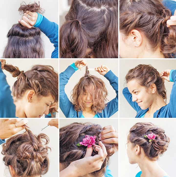 Hairstyles For Black Teenage Girl - Flower Child