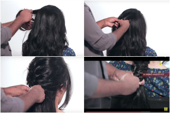 Cute Hairstyles For Black Teenager - French Braid