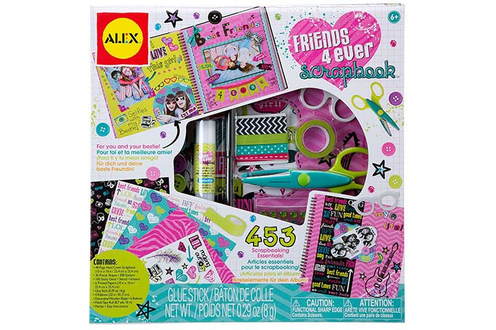 Friends 4 Ever Craft Scrapbook
