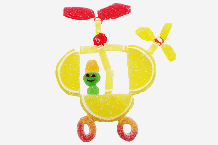 Airplane Craft - Fruits And Candy Aircraft