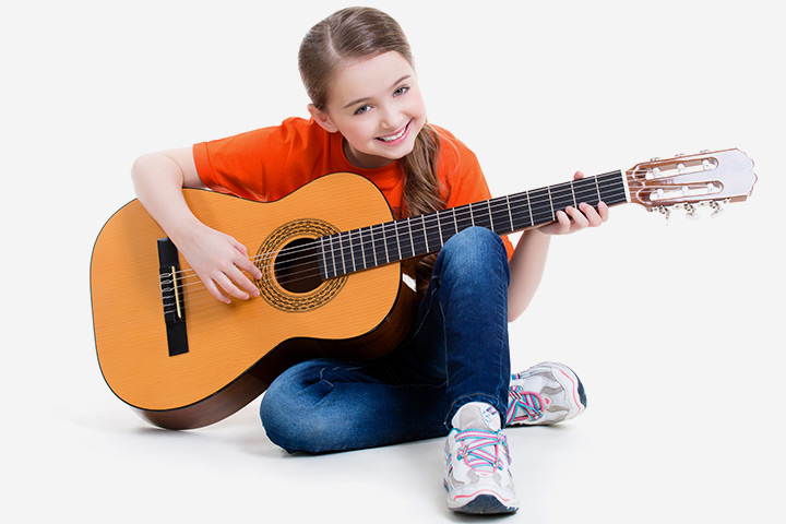 Musical Instruments For Kids - Guitar