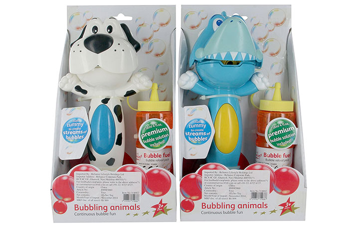 Hamleys Bubbling Animals