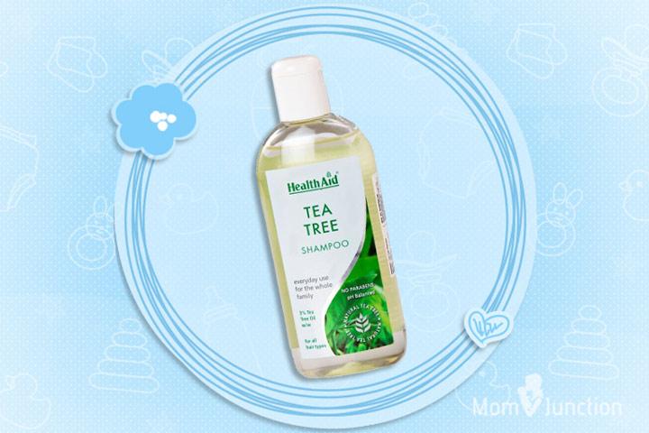 Anti Dandruff Shampoo For Kids - HealthAid Tea Tree Shampoo