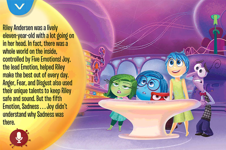 Inside Out Storybook Deluxe