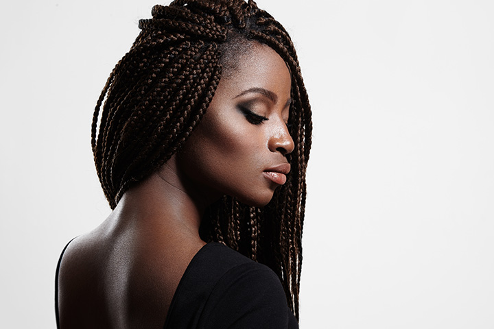 Cute Hairstyles For Black Teens - Jumbo Braids