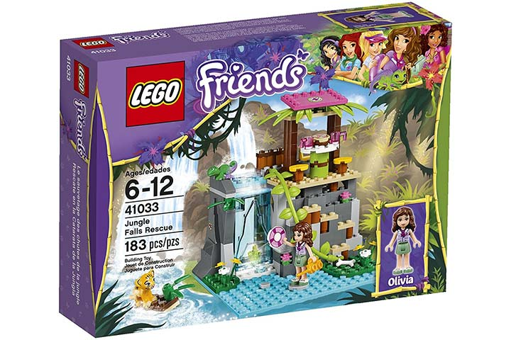 Jungle Falls Rescue Set
