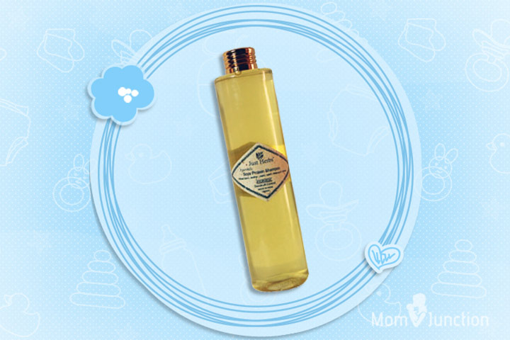 Anti Dandruff Shampoo For Kids - Just Herbs Dandruff Control Ayurvedic Soya Protein Shampoo
