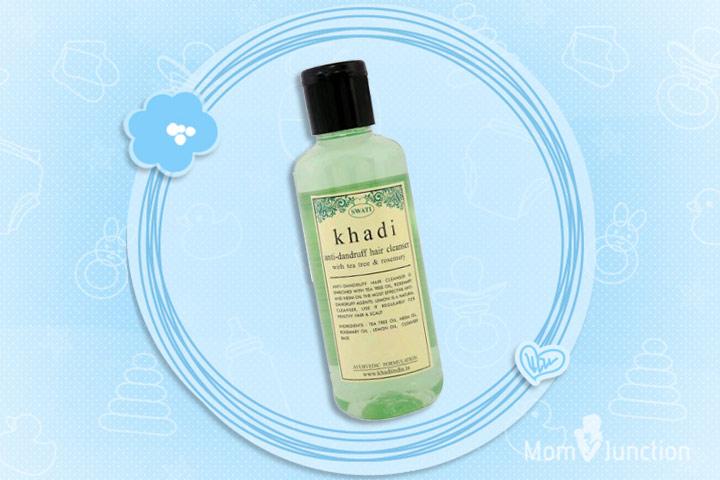 Anti Dandruff Shampoo For Kids - Khadi Anti-Dandruff Hair Cleanser