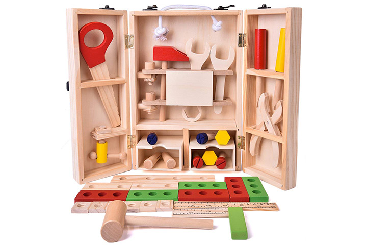 Kids Tool Box Wooden Toys