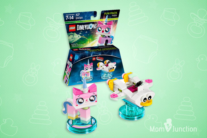 Toys For 8 Year Old Boys - LEGO Dimensions Fun Pack Unikitty