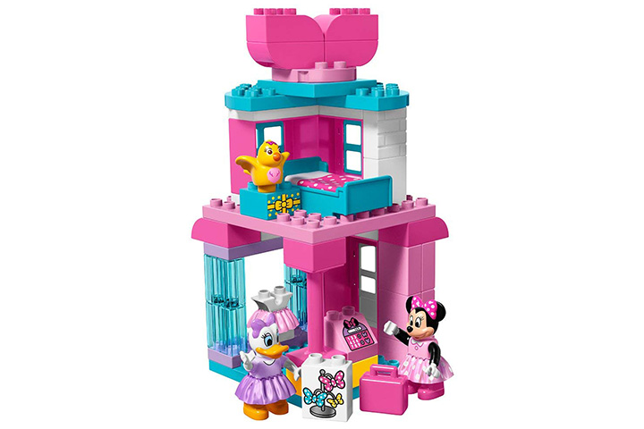 4 LEGO Duplo Disney Minnie Mouse Building Kit