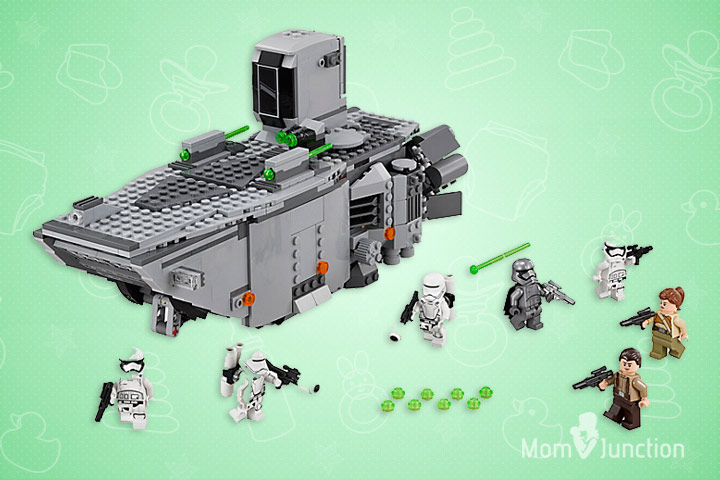 Toys For 9 Year Old Boys - LEGO Star Wars First Order Transporter