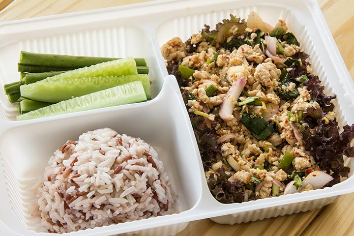 Bento Box Lunch Ideas For Kids - Leftover Rice Bento Box