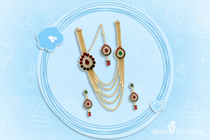 Mother's Day Gifts - Long Rani Traditional Neckpiece Set