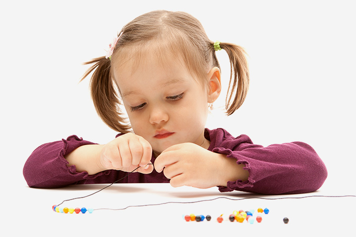 Writing Activities For Preschoolers - Make A Name Necklace