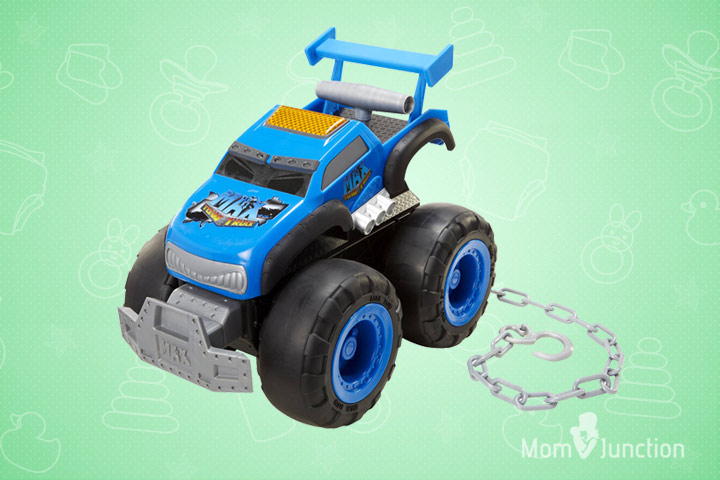 Toys For 8 Year Old Boys - Max Turbo Truck Turbo Speed