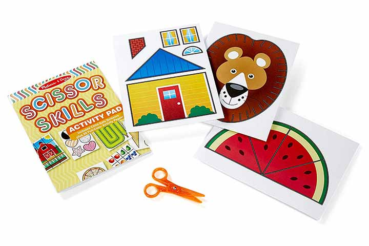 Melissa & Doug Scissor Skills Activity Book