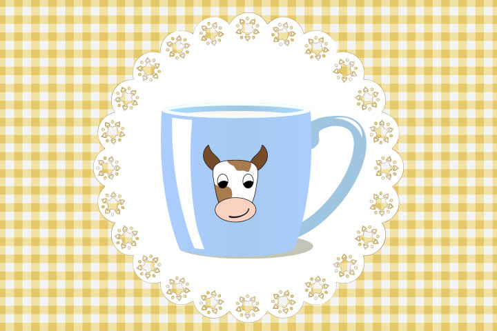Cow Crafts - Mug Painted Cow