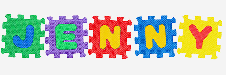 Writing Activities For Preschoolers - Name Puzzle