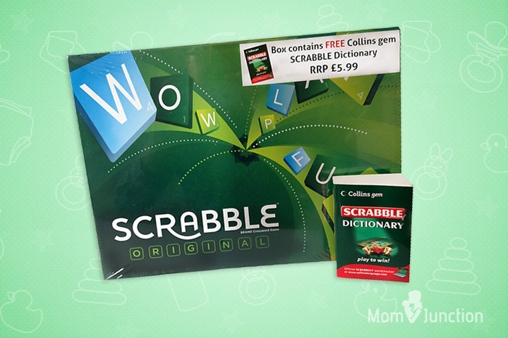 Toys For 10 Year Old Boys - Original Scrabble With Dictionary