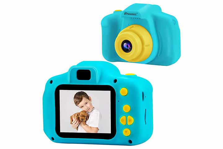 PROGRACE Kids Camera Children Digital Cameras for Boys