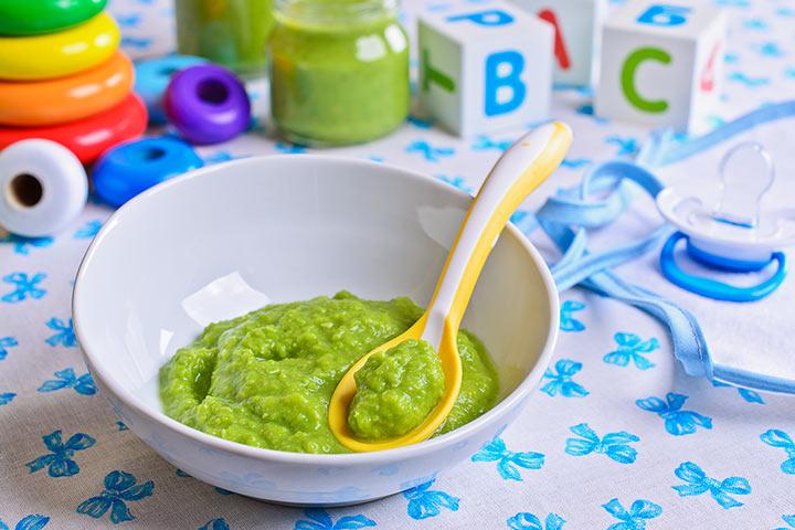 Peas and avocado mash