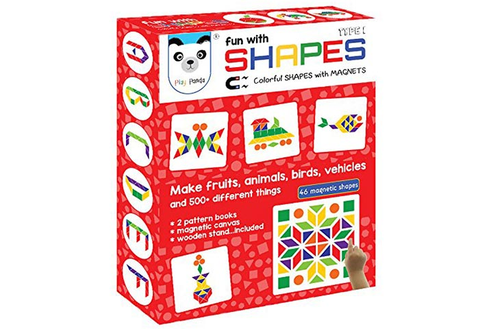 Play Panda Fun With Shapes Puzzles