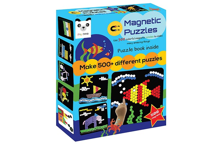 Play Panda Magnetic Puzzles