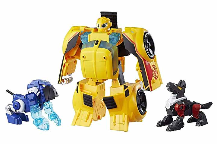 Playskool Heroes Transformers Rescue Bots Bumblebee Rescue Guard