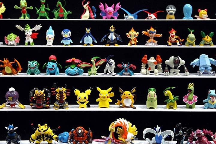 Pokemon Toy Figures Set