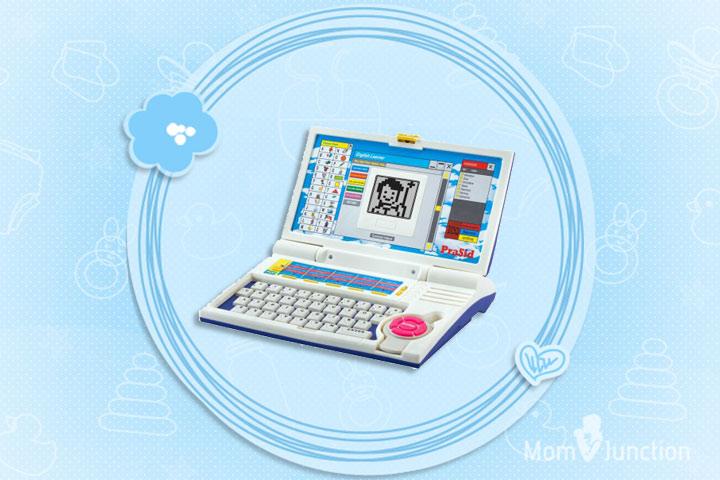 Laptop Toys - Prasid English Learner Kids Laptop