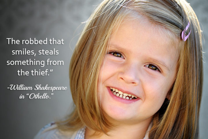 Kids Smile Quotes With Images