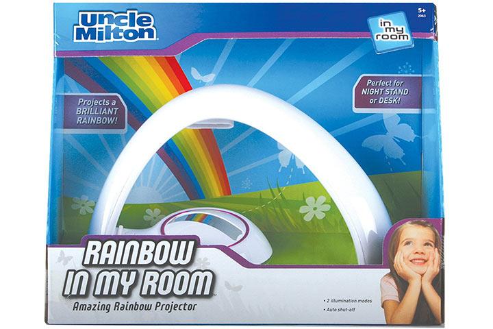 Rainbow In My Room Tabletop Projector