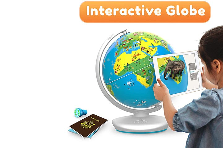 Shifu Orboot (App Based) Augmented Reality Interactive Globe for Kids