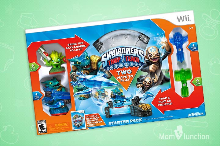 Toys For 9 Year Old Boys - Skylanders Trap Team Started Pack For Nintendo Wi