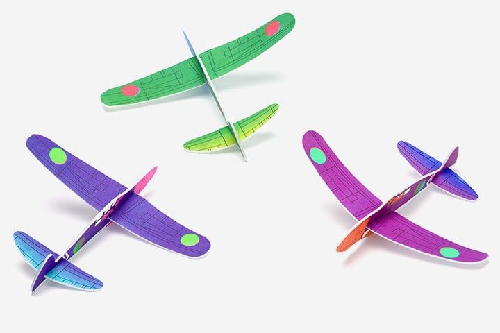 Airplane Craft - Styrofoam Airplane Craft