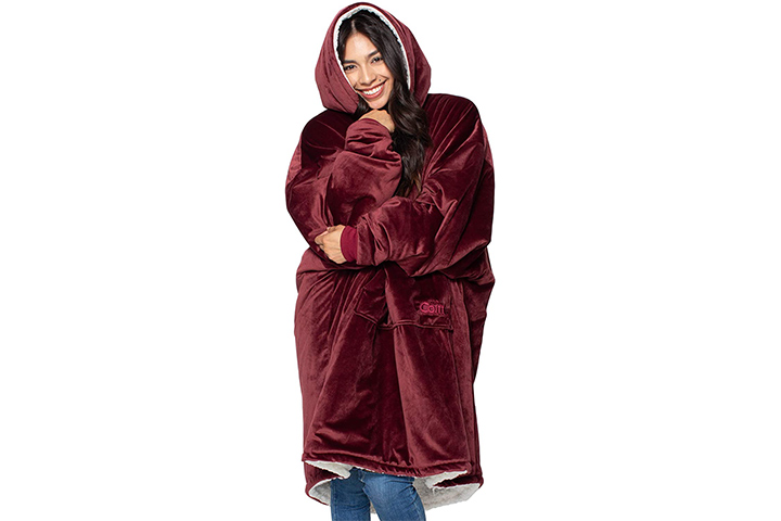 The Comfy Oversized Microfiber and Sherpa