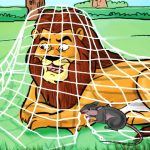 'The Lion And The Mouse' Story For Your Kid
