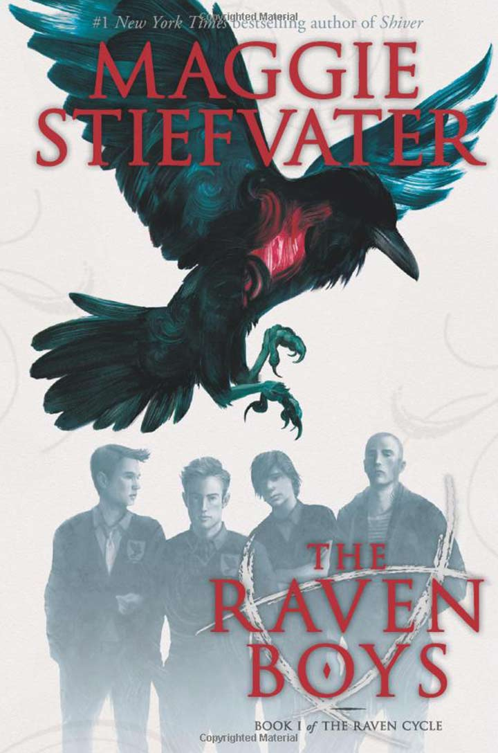 The Raven Boys, Book 1 by Maggie Stiefvater