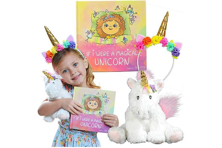 Tickle & Main Unicorn Gift Set