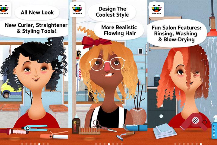 Toca Hair Salon 2 – Free Version
