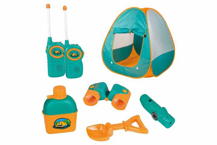 ToyVelt Kids Camping Tent Set Toys