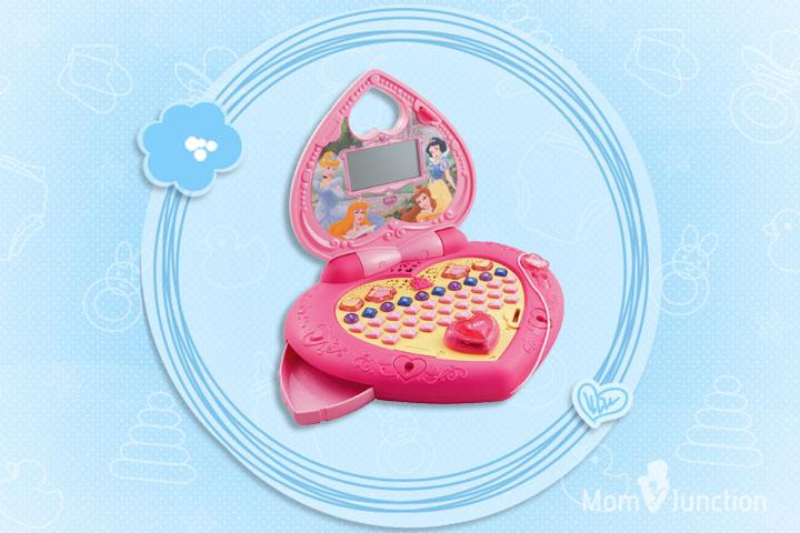Laptop Toys - VTech Disney Princess Magical Learning Laptop